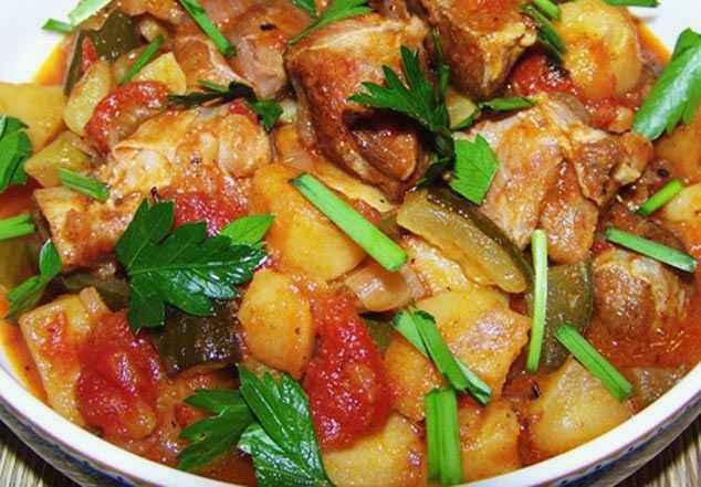 Тушеная говядина с овощами в мультиварке рецепт 92