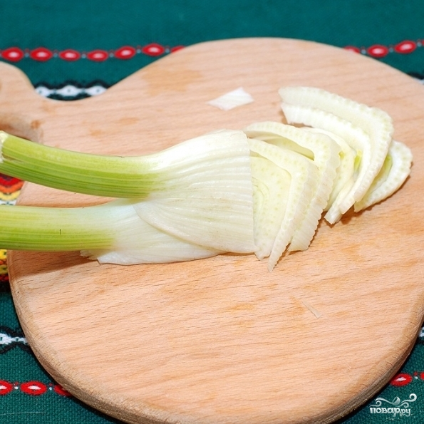Рыбный суп с фенхелем - фото шаг 5