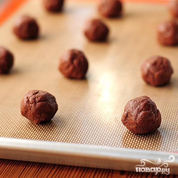 Печенье из крема Nutella - фото шаг 5