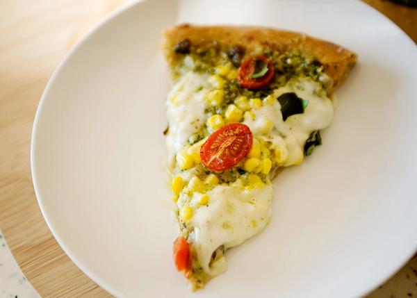 Пицца с соусом песто - фото шаг 6