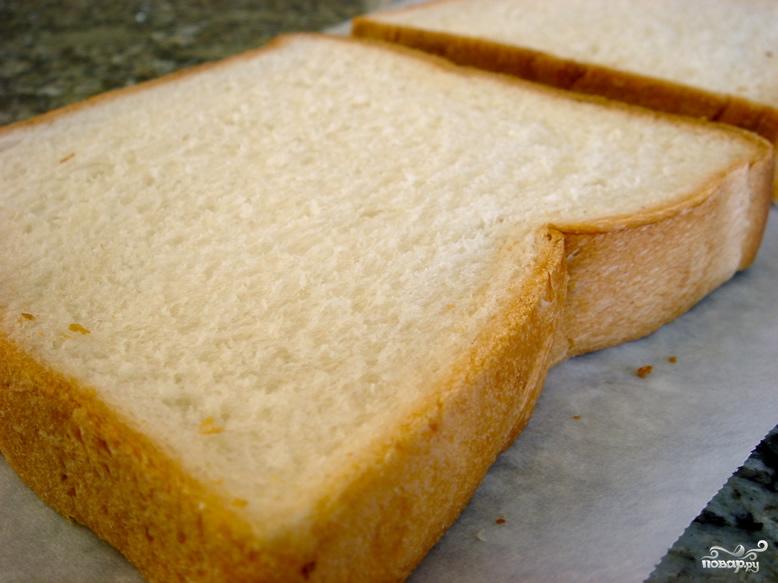 Тосты с сыром и чесноком - фото шаг 2