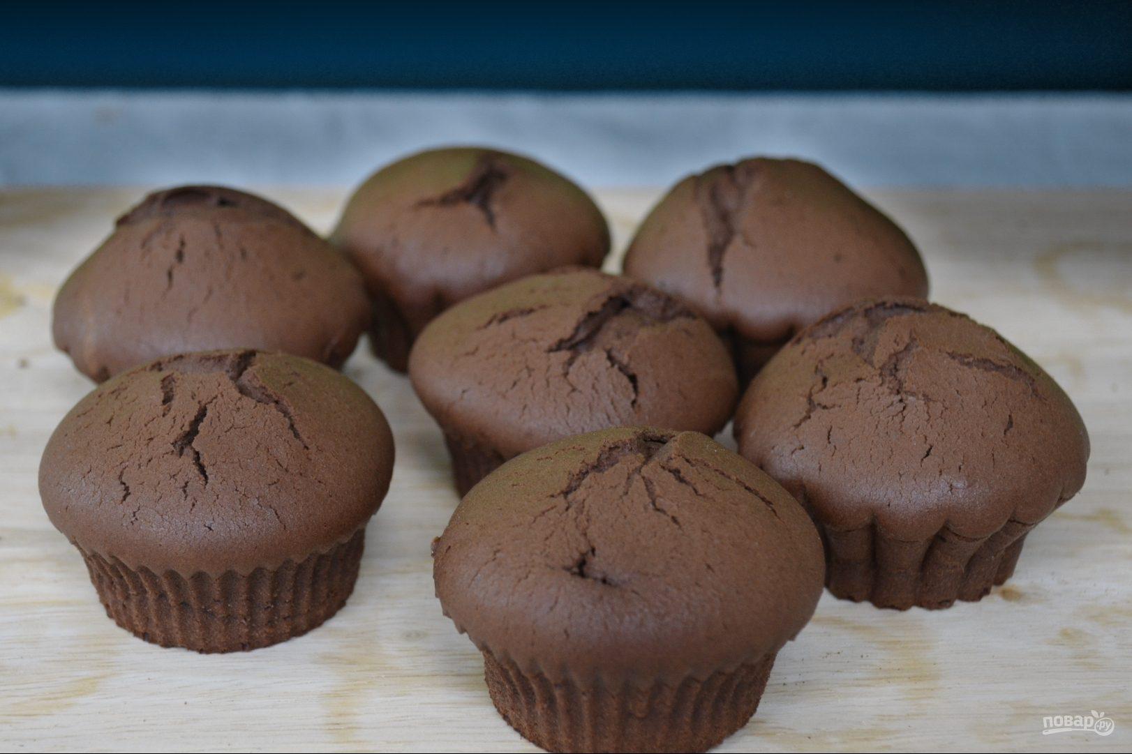 шоколадные кексы рецепт в духовке простой рецепт