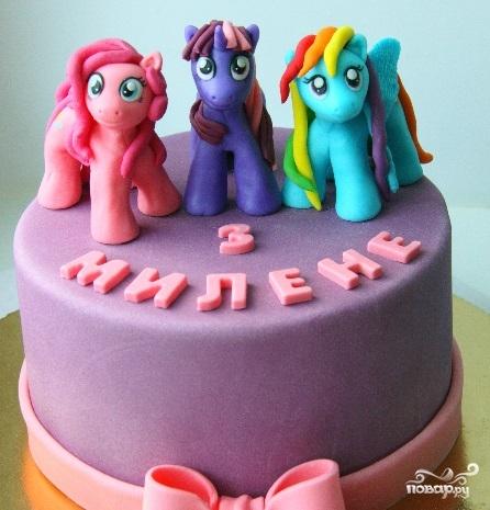 Детские торты для девочки на год фото 10