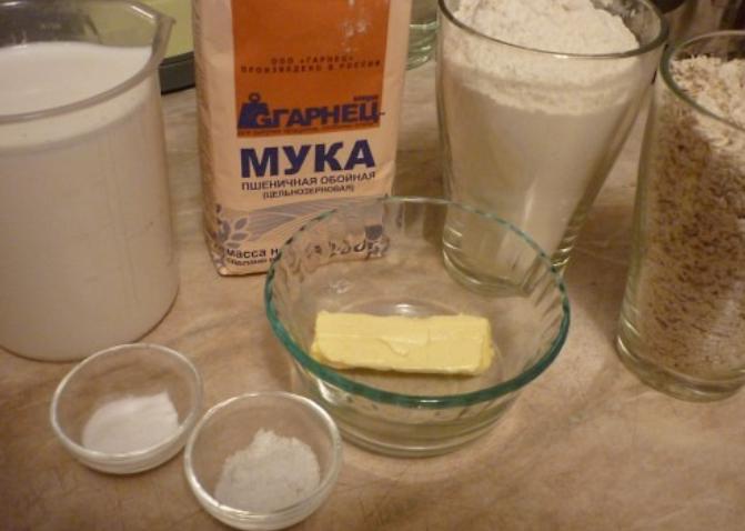 Рецепт Хлеб из ржаной муки без дрожжей