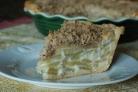 Яблочный пирог со сметаной