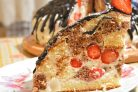 Торт Панчо с клубникой
