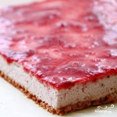 Кокосово-клубничное пирожное - фото шаг 9