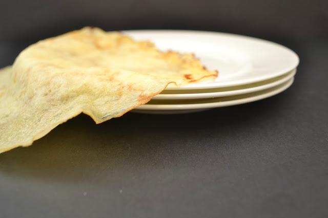 Рецепт Блинчики с капустой и грибами