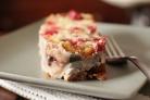 Брусничный торт со сметанным кремом