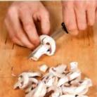 Рецепт Грибы в сухарях, с рисовой лапшой и салатом фризе