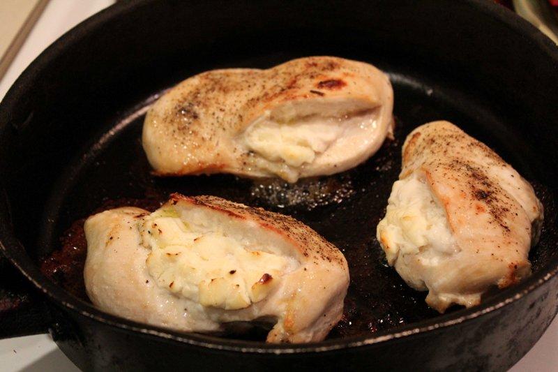 Фаршированные грудки курицы - фото шаг 3