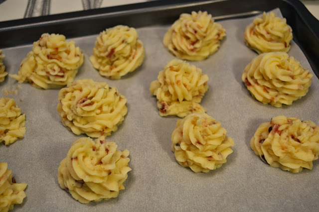 Картофельное пюре с ветчиной - фото шаг 3