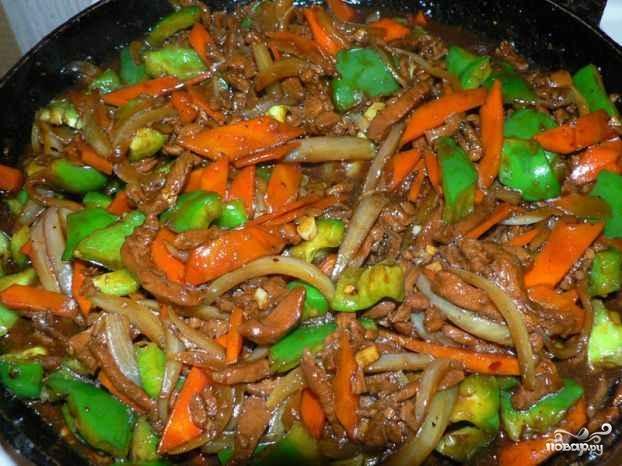 Мясо по-азиатски - фото шаг 9
