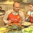 """Рецепт Салат """"Тайский ноктюрн"""" с индейкой и креветками"""