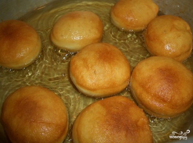 Пончики на простокваше - фото шаг 7