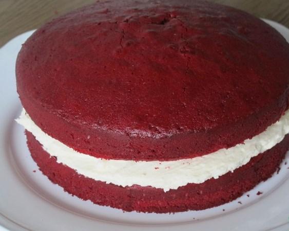 Торт красный - фото шаг 13