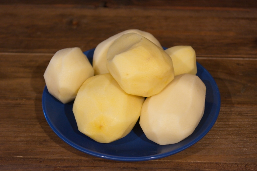 Рецепт Картофельные котлеты с курицей