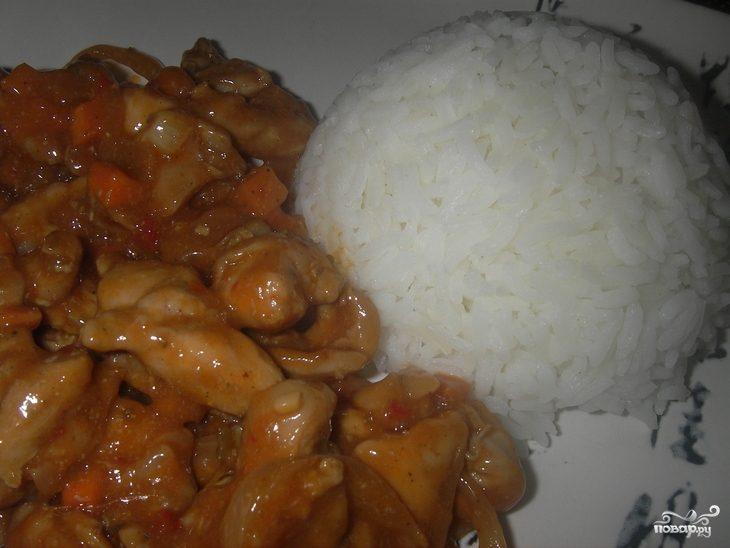 Курица в остром соусе по-китайски