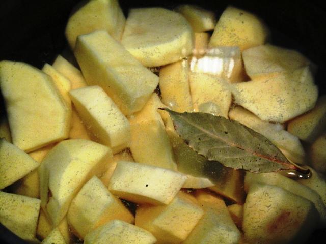 Рецепт Картофельное пюре со сливками