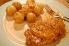 Свинина под сливочным соусом