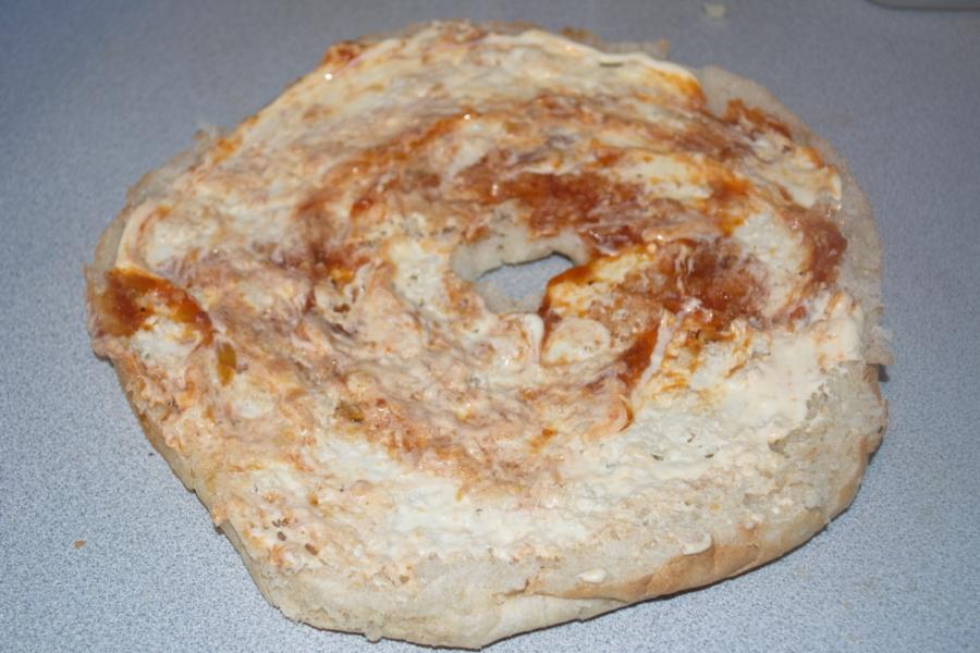 Запеченный лааваш с сыром и зеленью - фото шаг 3