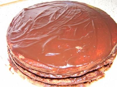 """Торт """"Шоколадное наслаждение"""" - фото шаг 6"""