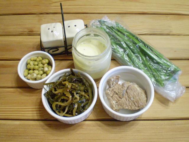Рецепт Диетический салат из морской капусты