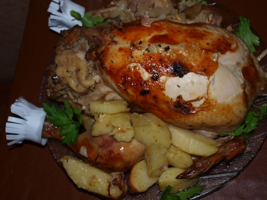 Курица в рукаве для запекания - фото шаг 6