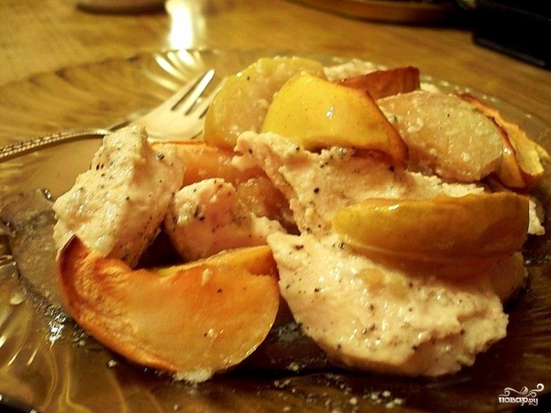 куриная грудка с грушами в духовке рецепты