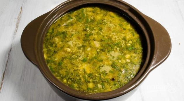 Суп харчо из курицы рецепт классический