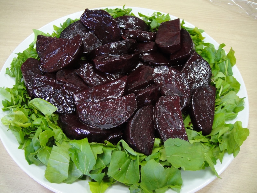 Салат из свеклы и феты - фото шаг 4