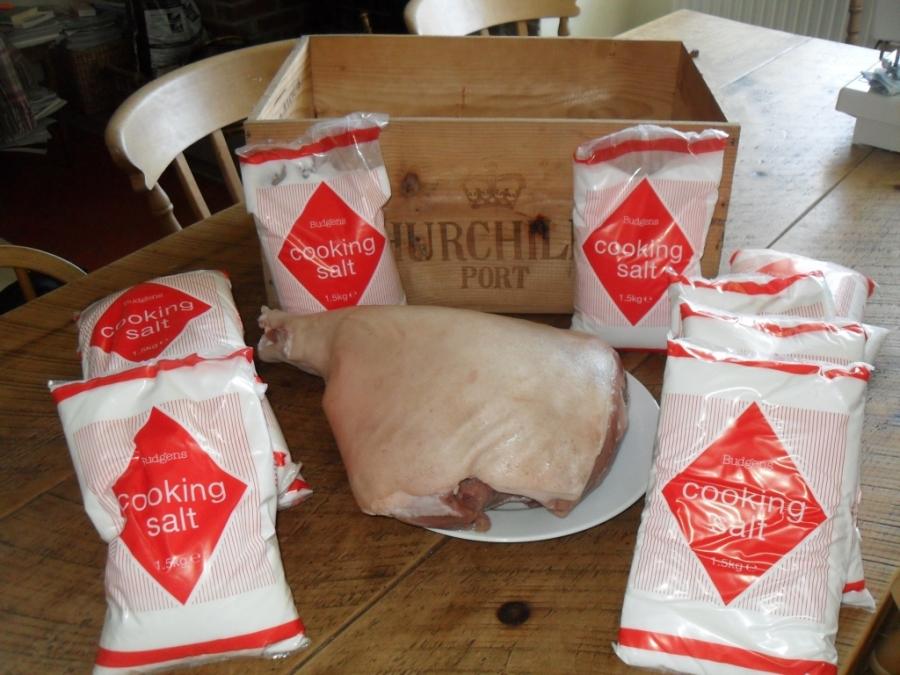 Рецепт Пармская ветчина в домашних условиях