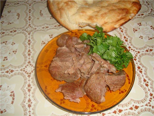 Баранина отварная по-армянски - фото шаг 3