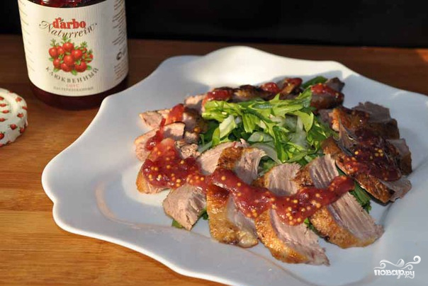 Салат с утиной грудкой по-китайски - фото шаг 5