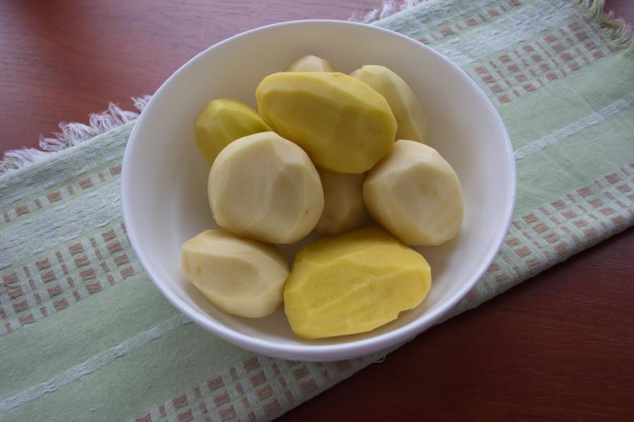Рецепт Картофель по-деревенски в рукаве