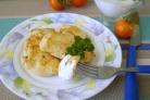 Куриная грудка кусочками на сковороде