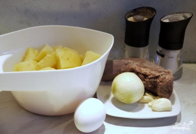 Картофельники из пюре - фото шаг 1