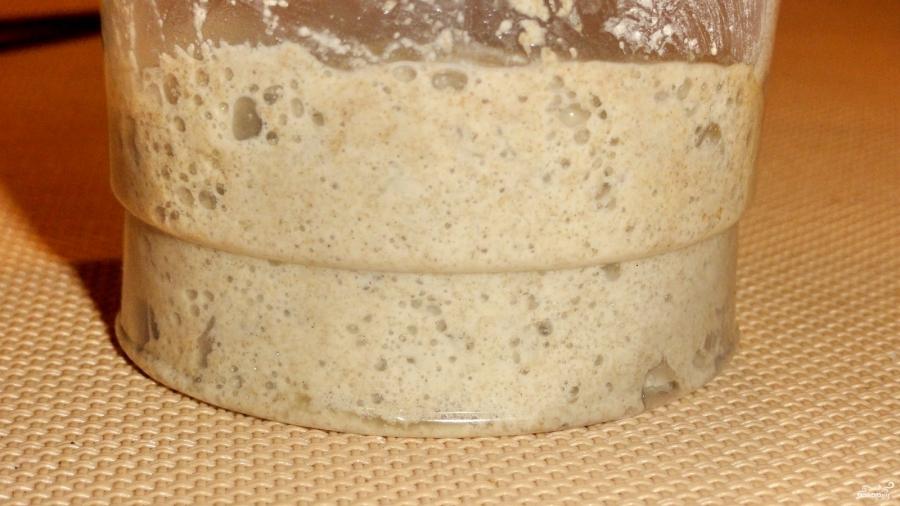 Постный хлеб без дрожжей - фото шаг 1