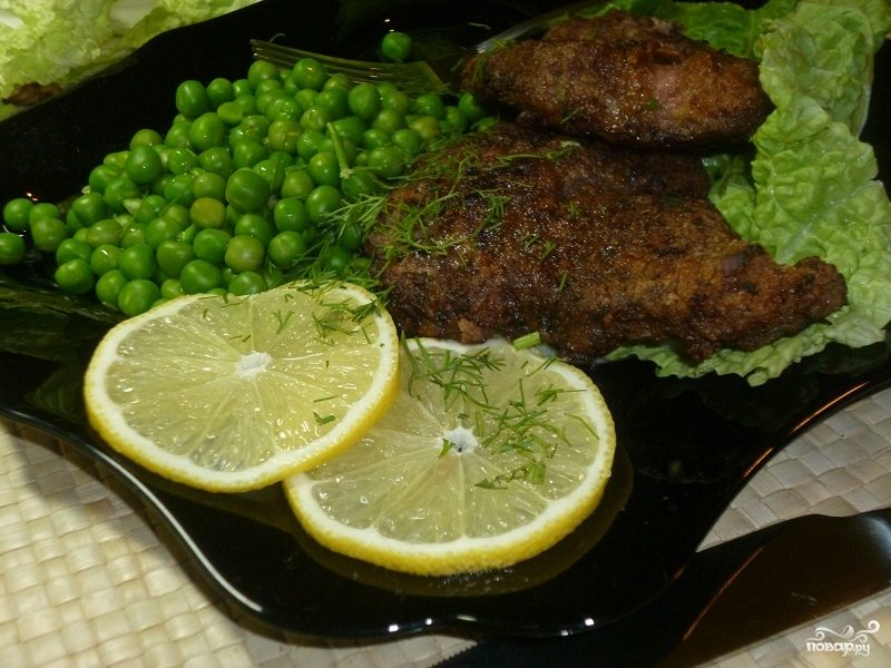 Ромштекс из говядины на сковороде