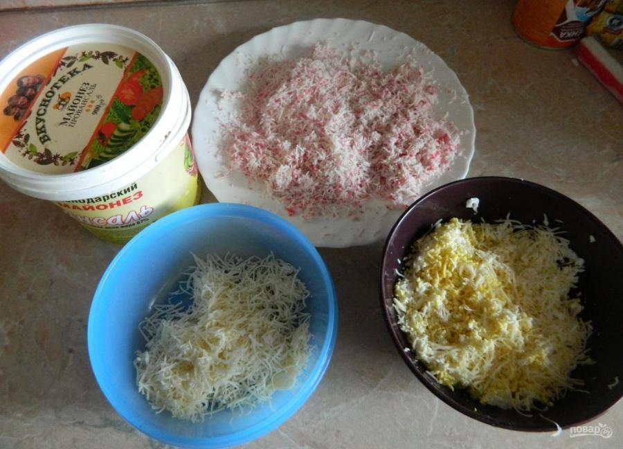 рецепт закуски сырные шарики с крабовыми палочками рецепт с фото