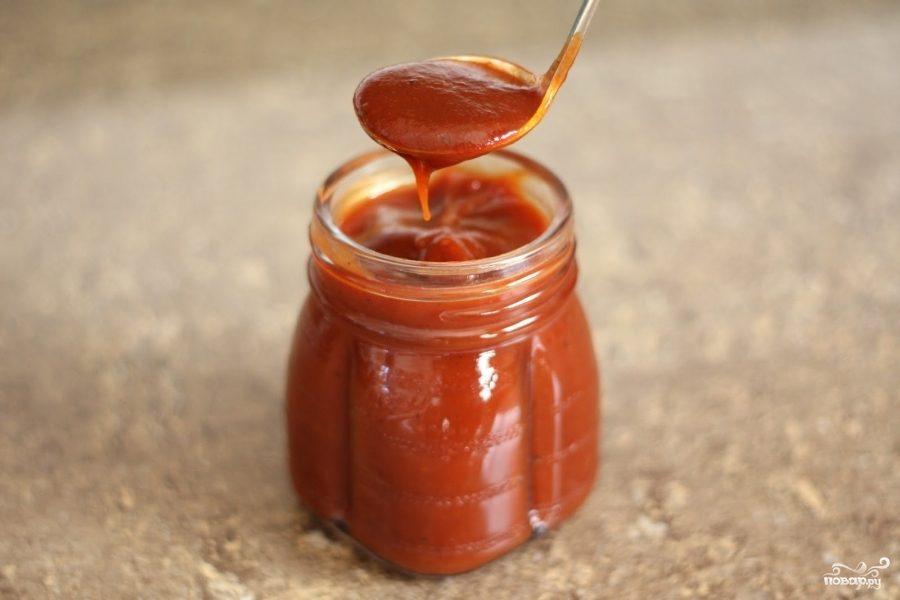 Домашний соус Барбекю из помидоров