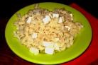 Макароны с плавленым сыром