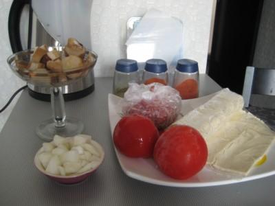 Рецепт Лазанья из слоеного теста