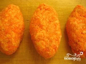 Постные котлеты из моркови - фото шаг 4