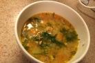 Рыбный суп из красной рыбы