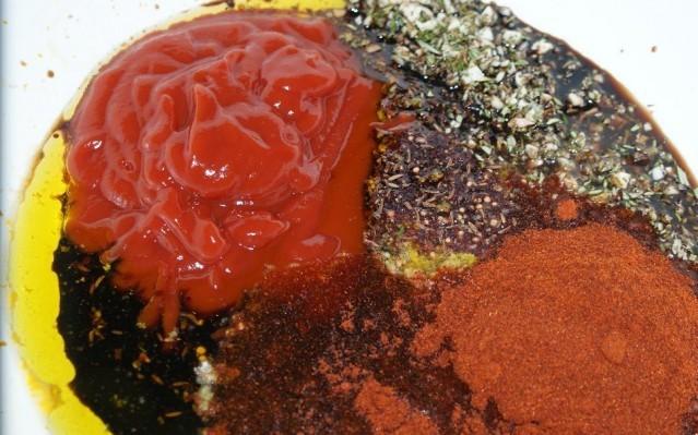 Ребрышки барбекю, запеченные в духовке - фото шаг 5