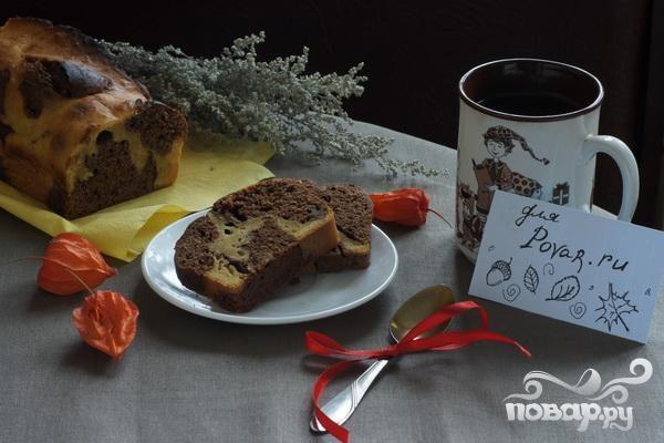 """Рецепт Тыквенно-шоколадный кекс """"Осення палитра"""""""