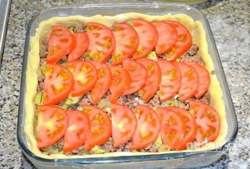 Открытый пирог с черной смородиной - пошаговый рецепт с