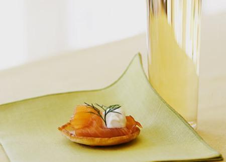 Рецепт Блинчики с копченым лососем