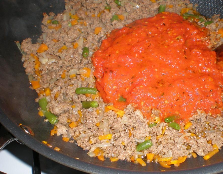 Запеканка из овощей в духовке - фото шаг 4